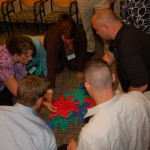 The Superintendent Program includes group activities to help participants determine their own leadership style.